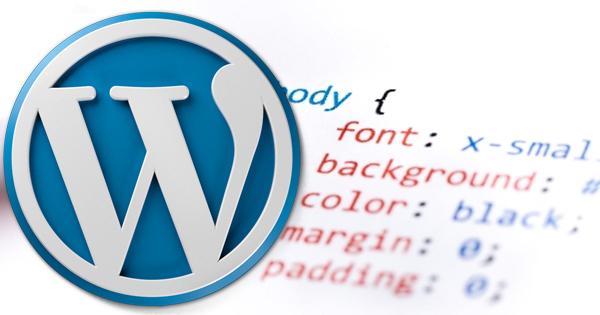 Как применять пользовательские CSS к WordPress админку