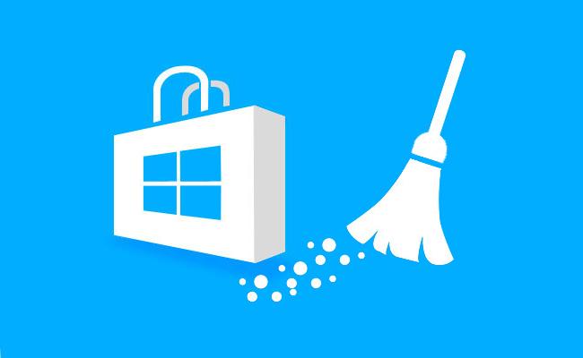 Comment supprimer ou effacer le cache depuis le magasin Windows app store