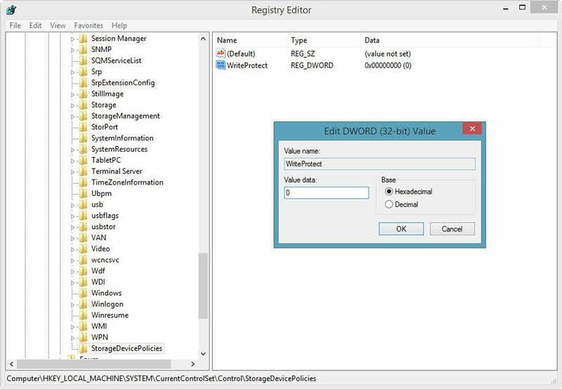एक USB स्मृति को हटाने के लिए कैसे (pendrive) या लेखन-सुरक्षित एसडी कार्ड - छवि 1 - प्रोफेसर-falken.com
