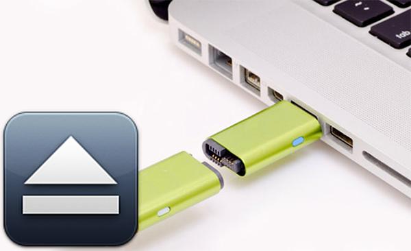 Как извлечь, правильно, диск, USB или флэш-диск на Mac OS X