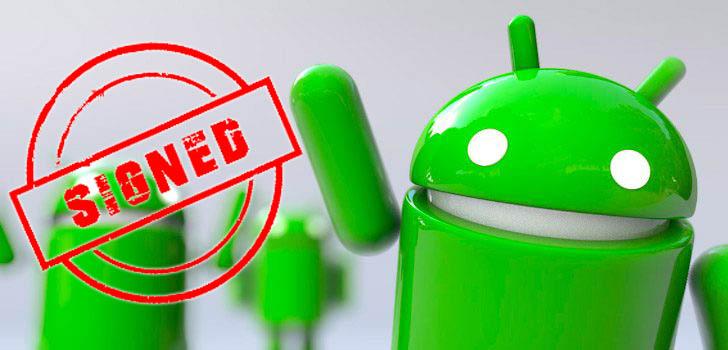 Как подписать вручную Android app (APK)