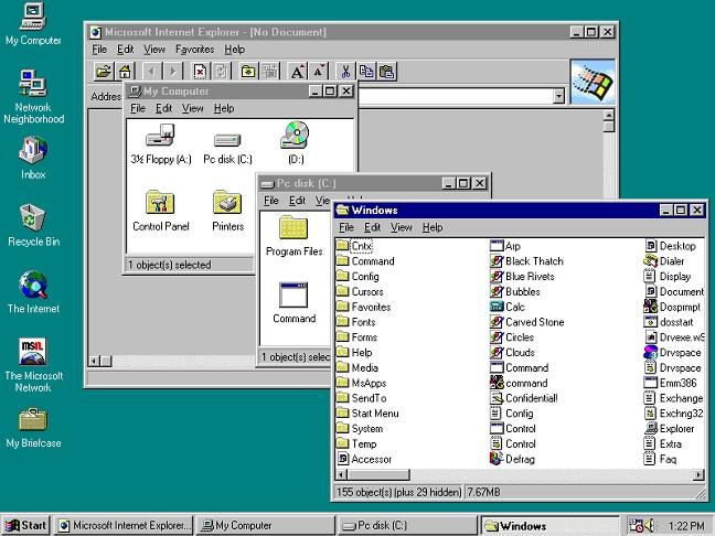 Ξαναζήστε τις ημέρες των Windows 95, από το πρόγραμμα περιήγησής σας, Χάρη σε αυτό εξομοιωτή σε απευθείας σύνδεση - Εικόνα 2 - Professor-falken.com