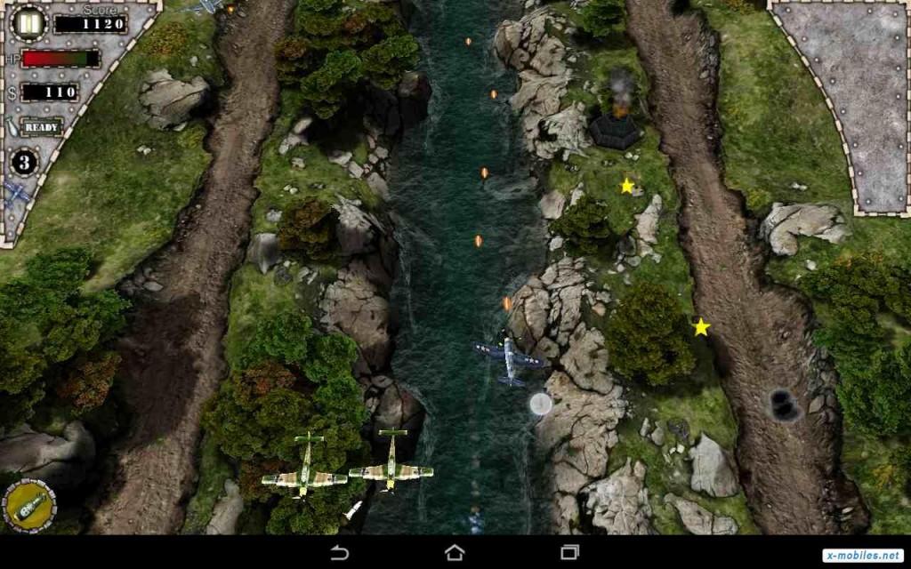 Retour au début 5 des meilleurs jeux d'Android de combat aérien - Image 1 - Professor-falken.com