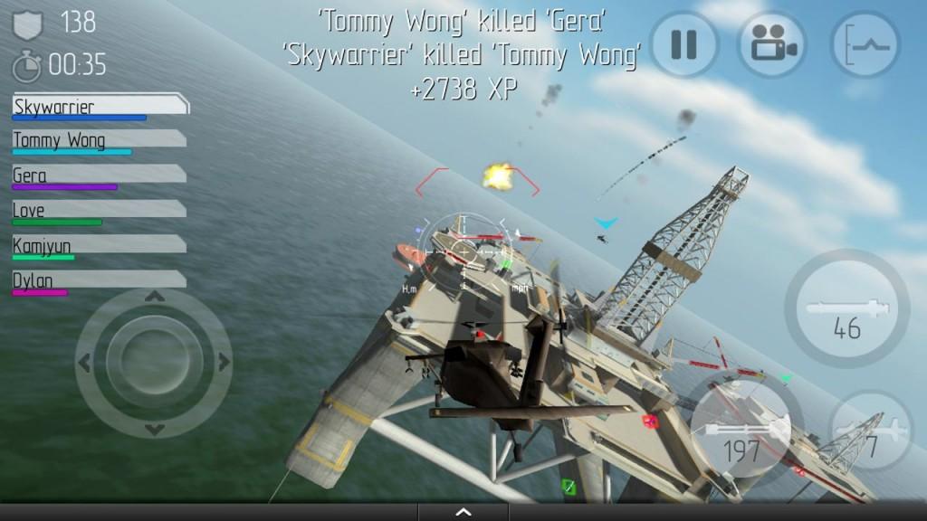 Retour au début 5 des meilleurs jeux d'Android de combat aérien - Image 3 - Professor-falken.com