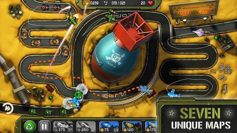 Retour au début 5 des meilleurs jeux d'Android de combat aérien - Image 4 - Professor-falken.com