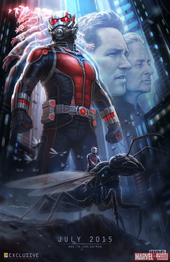 10 grands fonds d'écran d'une autre de super-héros Marvel, Ant-Man - Image 9 - Professor-falken.com