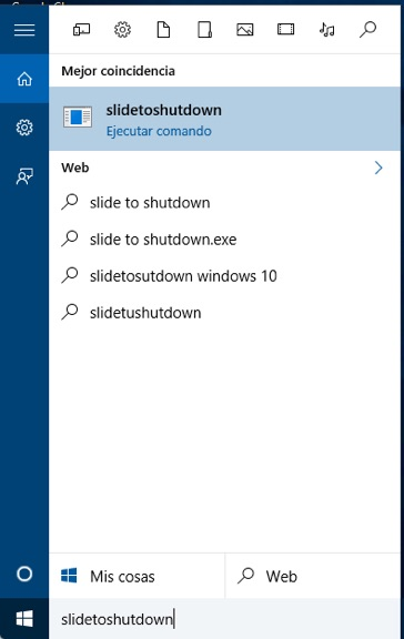 Como desligar o computador, deslizando o mouse, em Windows 10 - Imagem 1 - Professor-falken.com