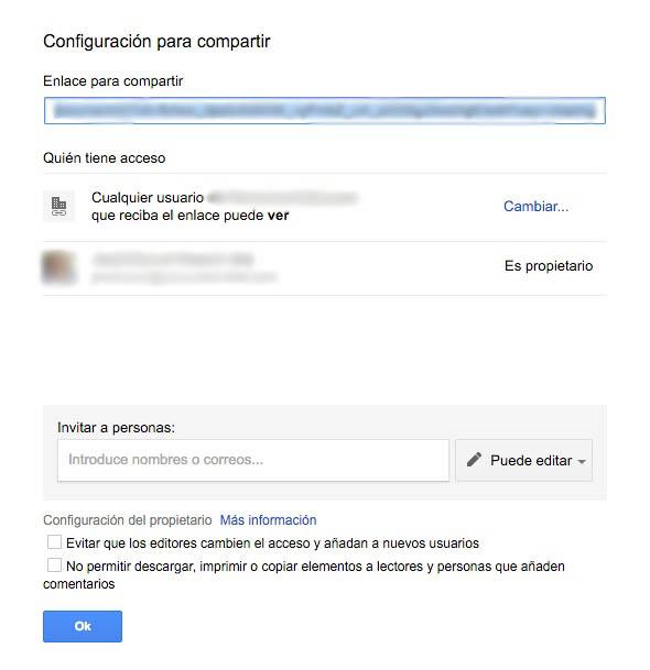 Πώς να αλλάξετε de ιδιοκτήτης του ΟΗΕ documento en Google Drive - Εικόνα 3 - Professor-falken.com