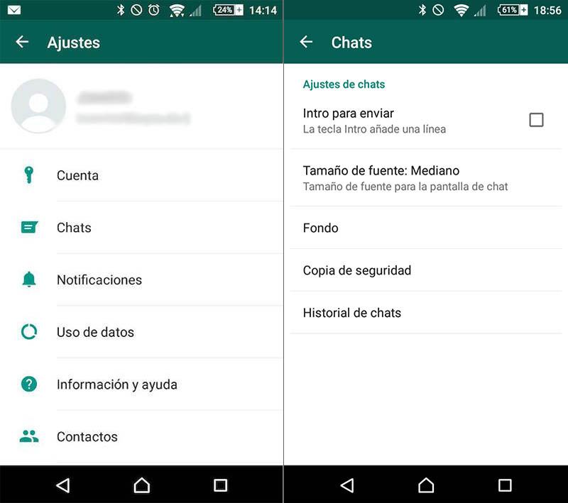 Come cambiare la carta da parati dei colloqui WhatsApp - Immagine 2 - Professor-falken.com