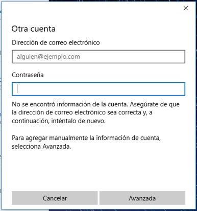 Come configurare o aggiungere account di posta elettronica di Outlook su Windows 10 - Immagine 7 - Professor-falken.com