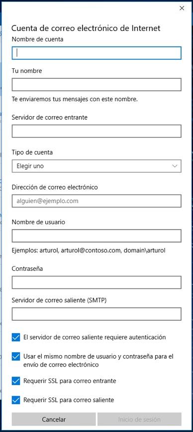 Come configurare o aggiungere account di posta elettronica di Outlook su Windows 10 - Immagine 8 - Professor-falken.com