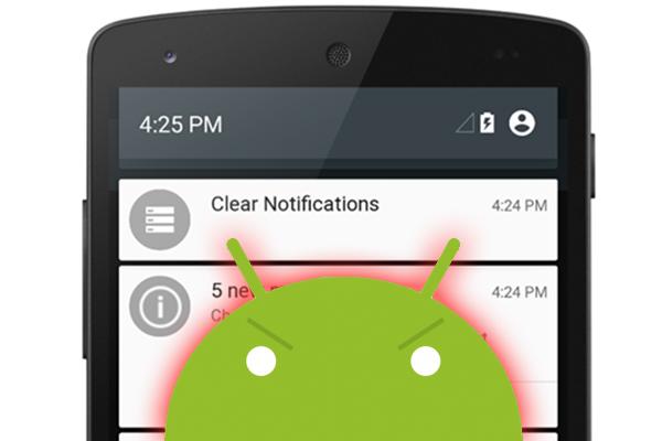 Comment faire pour désactiver les notifications de partir d'une application sur Android