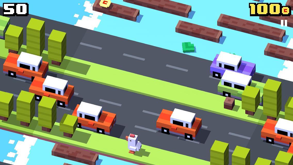 Crossy Road, una versione moderna del gioco della rana che attraversa la strada - Immagine 1 - Professor-falken.com