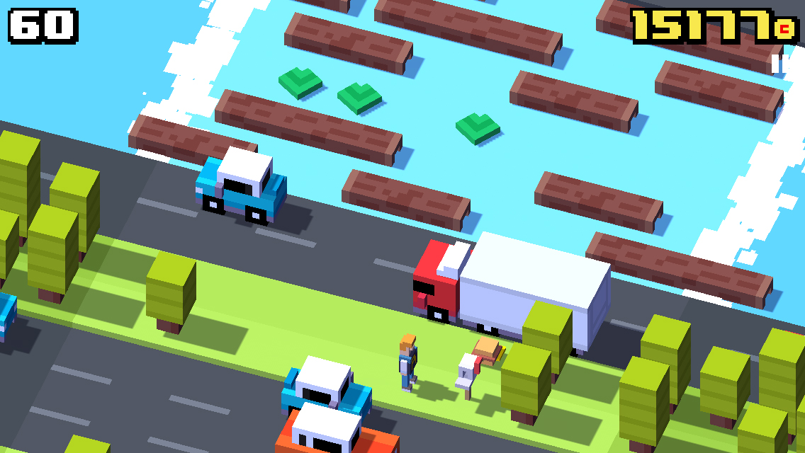 Crossy Road, una versione moderna del gioco della rana che attraversa la strada - Immagine 3 - Professor-falken.com