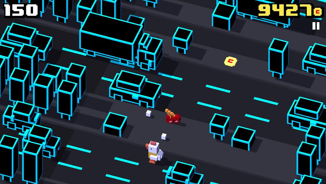 Crossy Road, una versione moderna del gioco della rana che attraversa la strada - Immagine 4 - Professor-falken.com