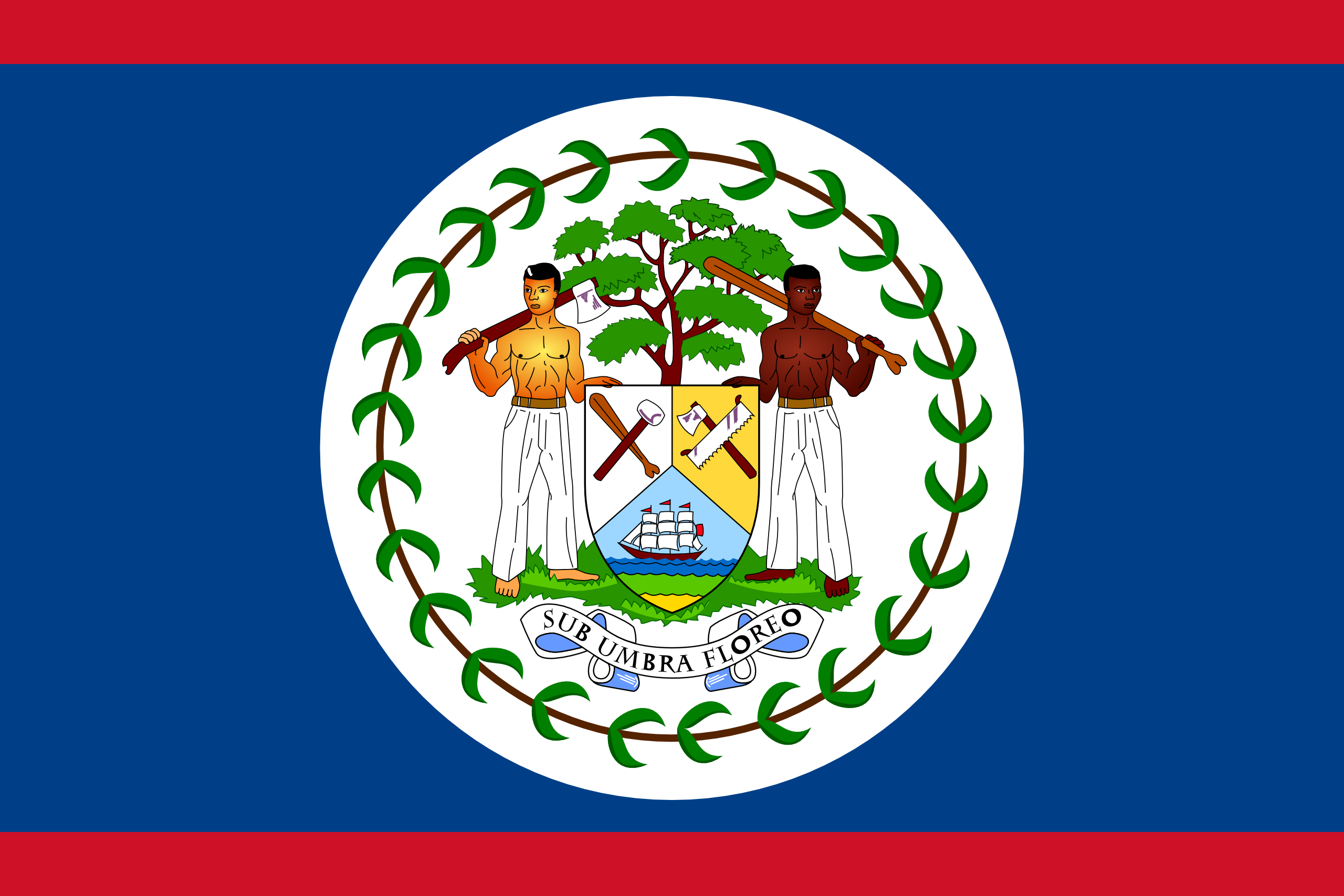belice, país, emblema, insignia, シンボル - HD の壁紙 - 教授-falken.com