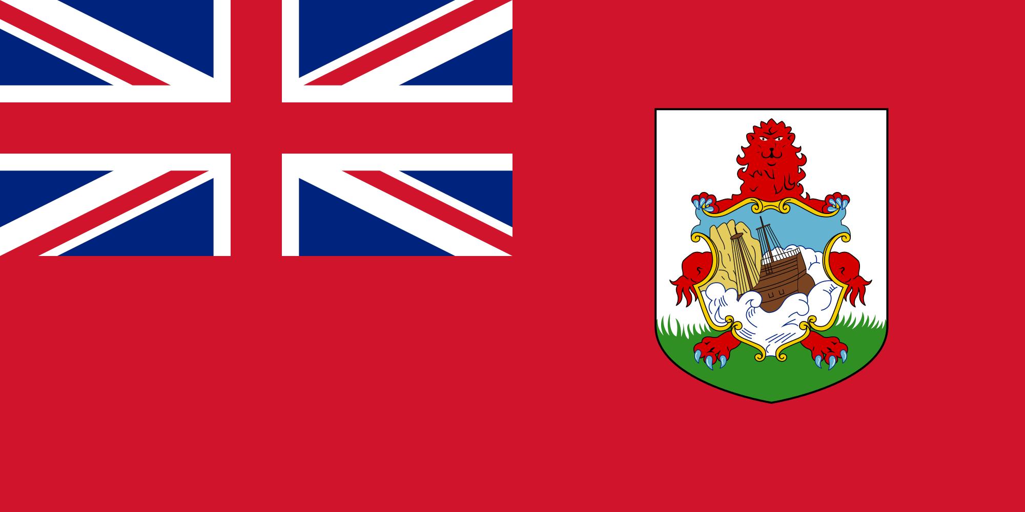 bermudas, país, emblema, insignia, символ - Обои HD - Профессор falken.com