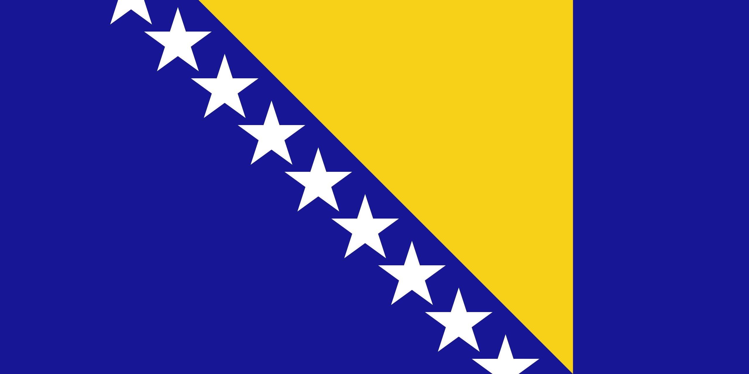 bosnia y herzegovina, paese, emblema, logo, simbolo - Sfondi HD - Professor-falken.com