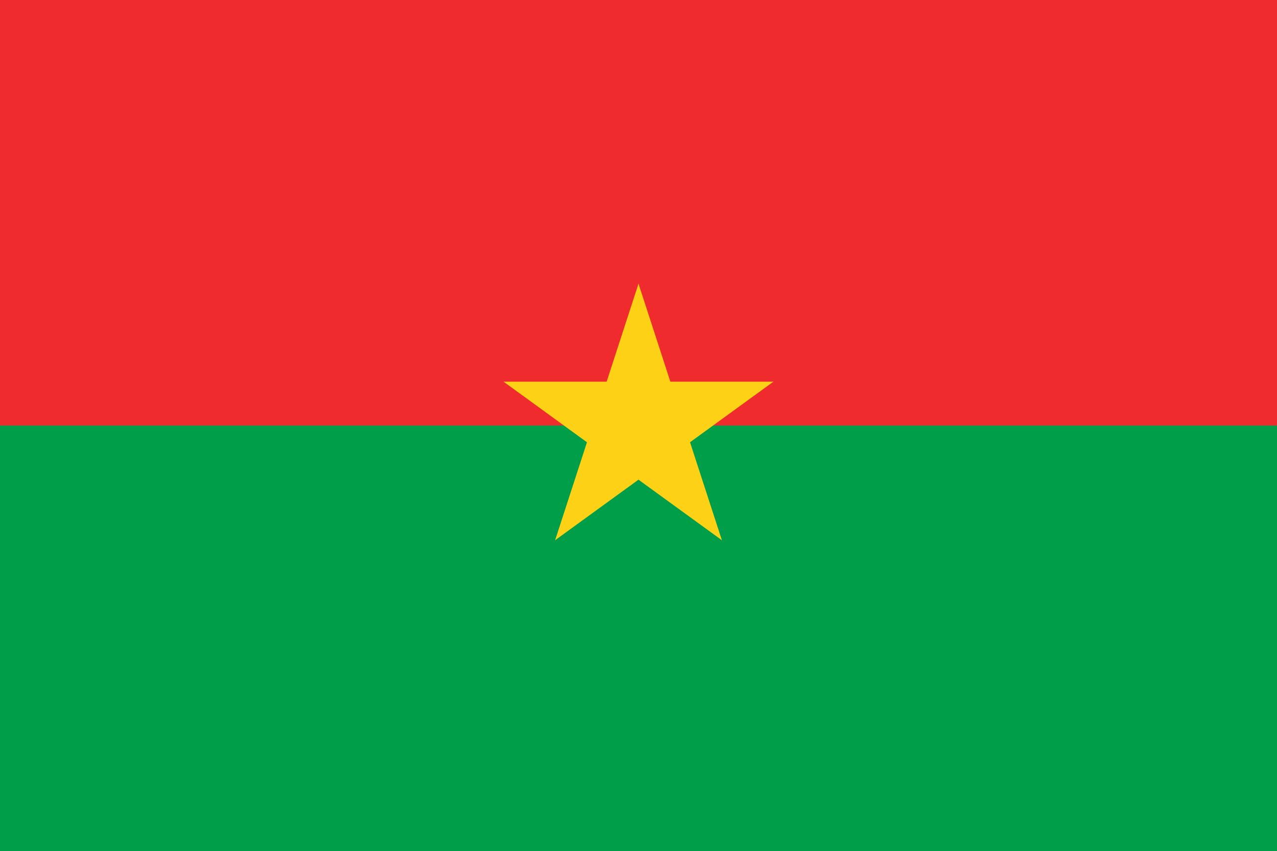 burkina faso, país, emblema, insignia, символ - Обои HD - Профессор falken.com