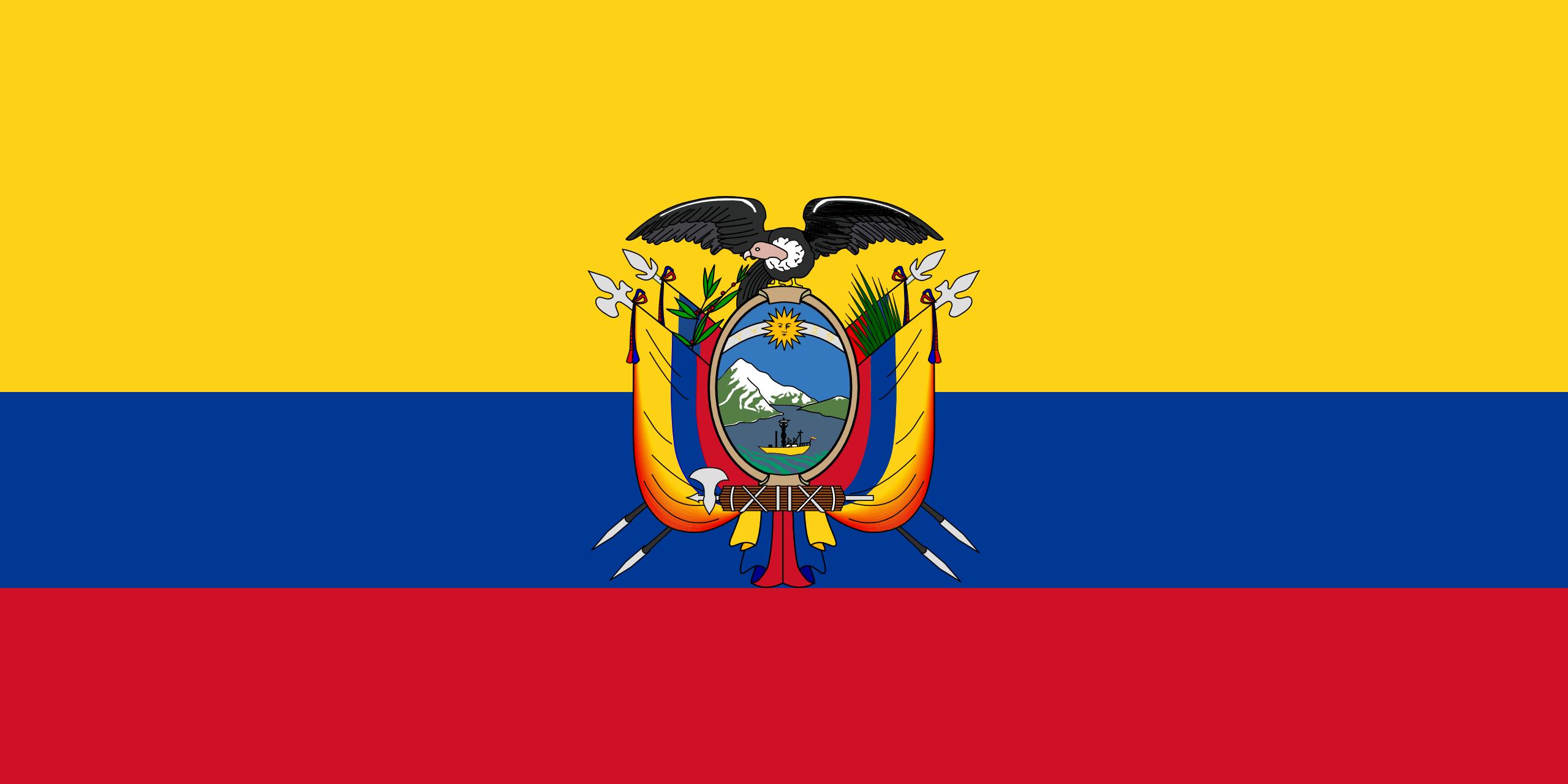 ecuador, paese, emblema, logo, simbolo - Sfondi HD - Professor-falken.com