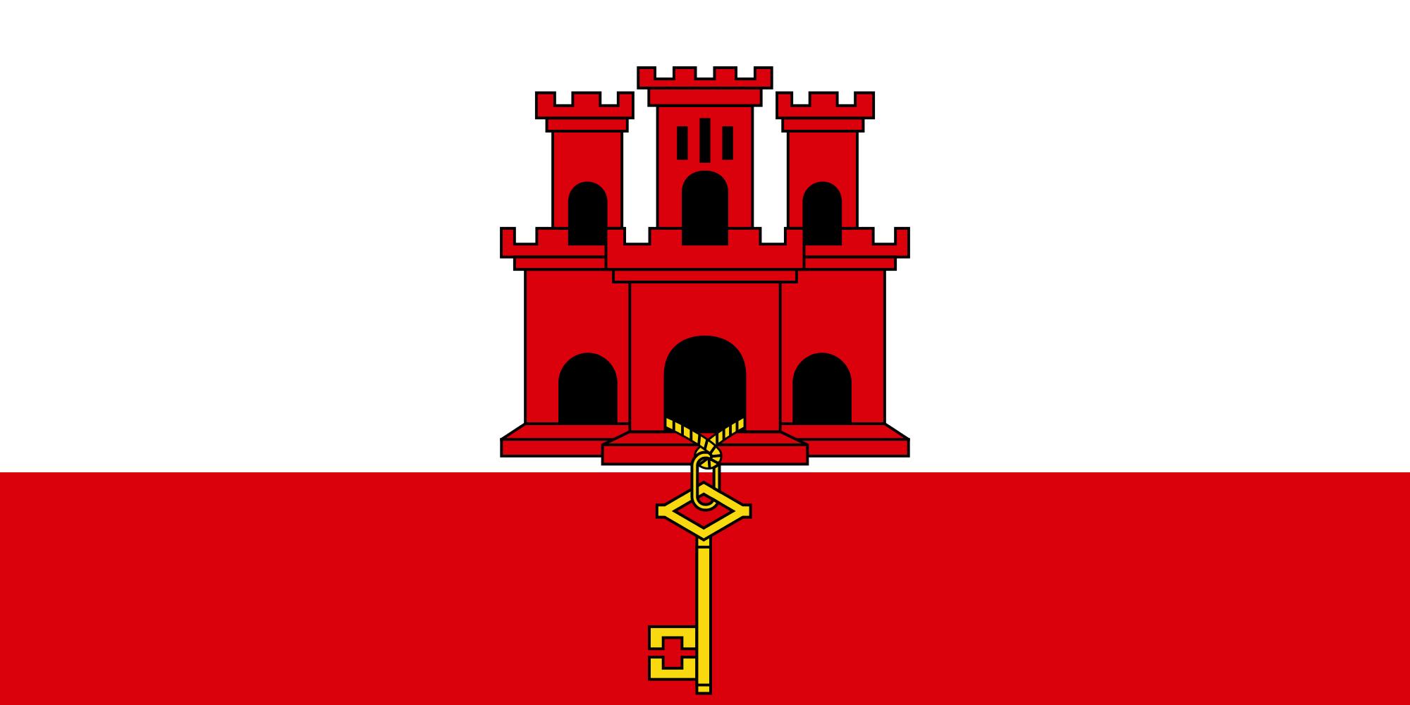 gibraltar, pays, emblème, logo, symbole - Fonds d'écran HD - Professor-falken.com
