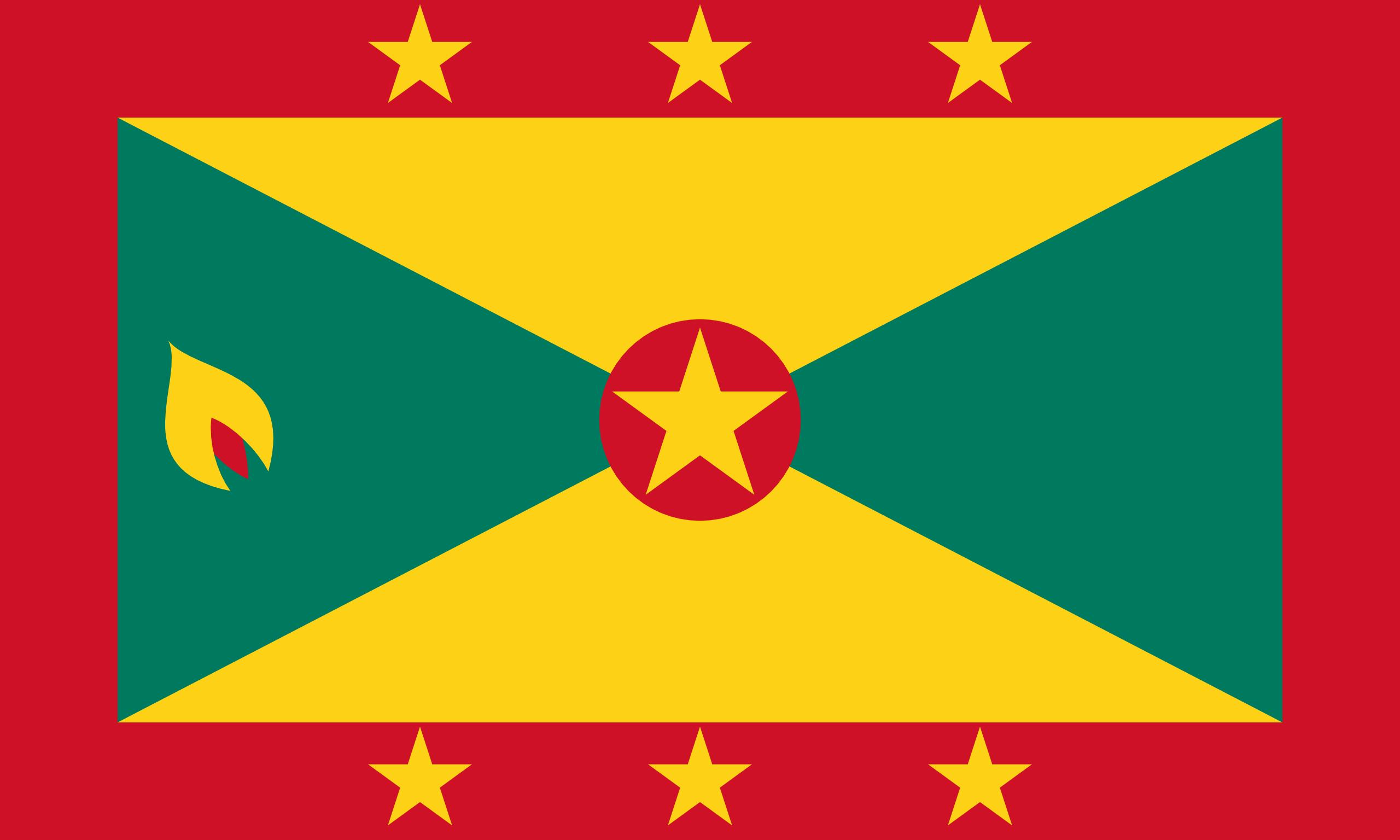 Granada, pays, emblème, logo, symbole - Fonds d'écran HD - Professor-falken.com