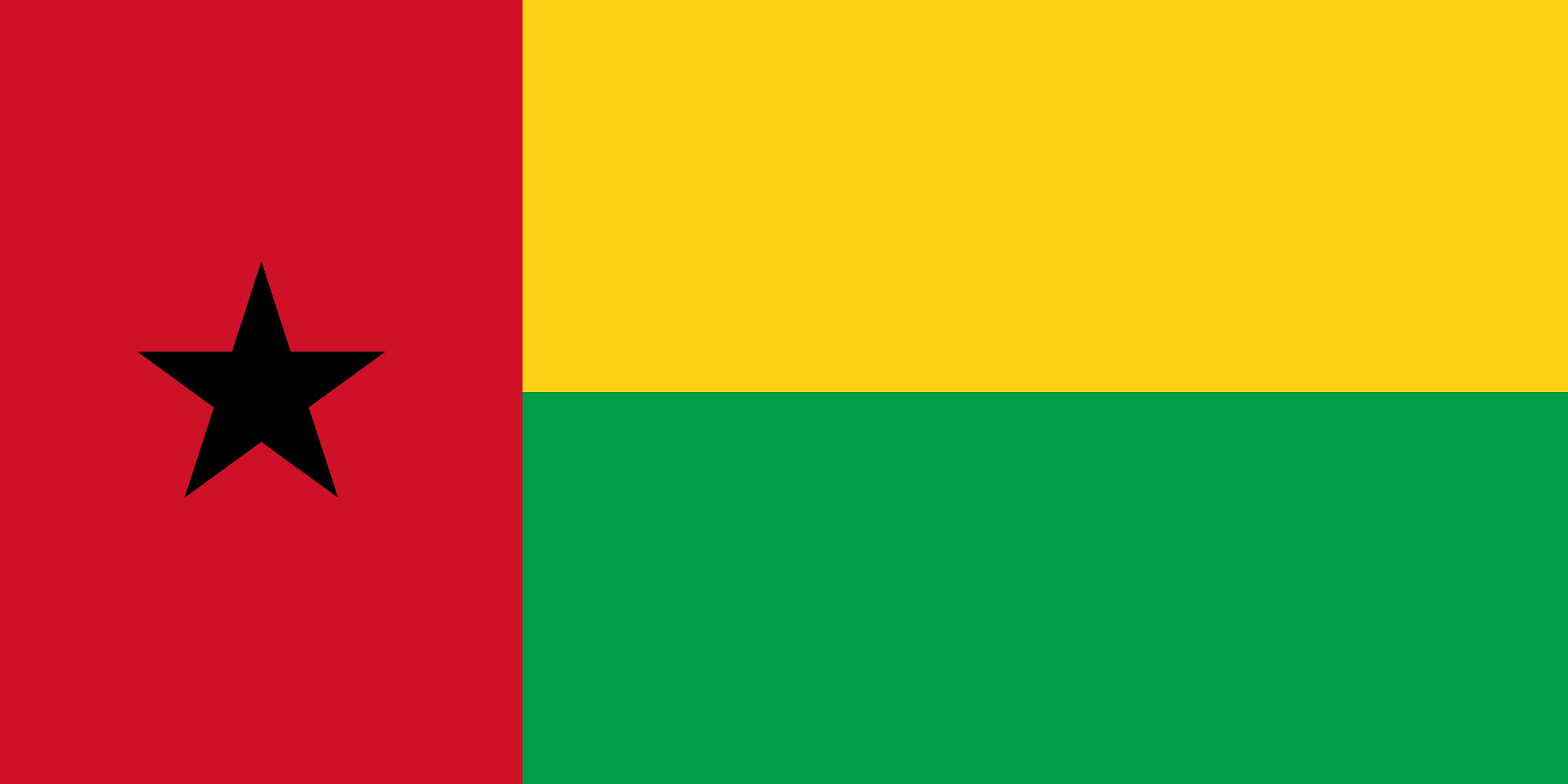 Guinée-Bissau, pays, emblème, logo, symbole - Fonds d'écran HD - Professor-falken.com