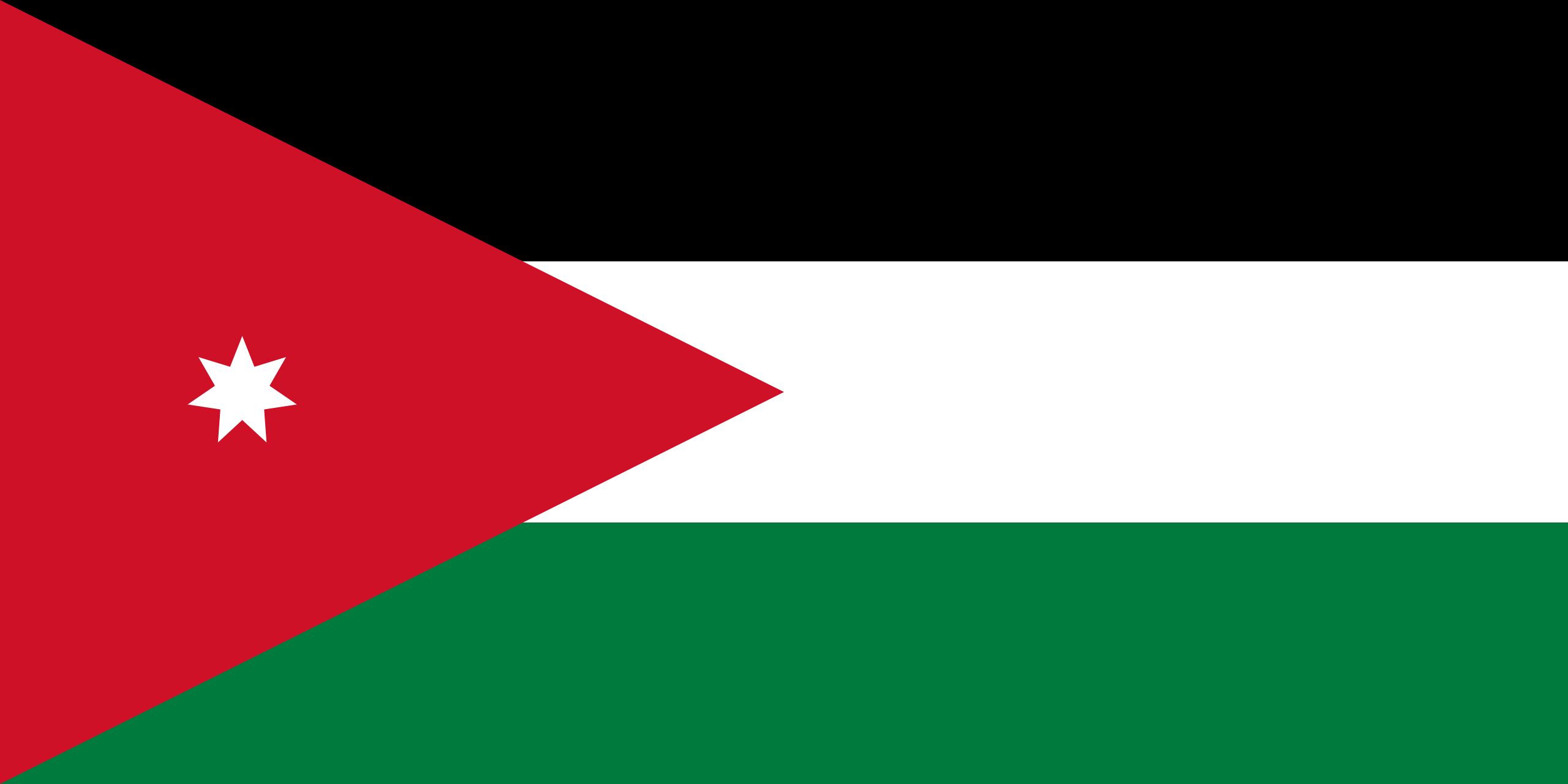 jordania, pays, emblème, logo, symbole - Fonds d'écran HD - Professor-falken.com