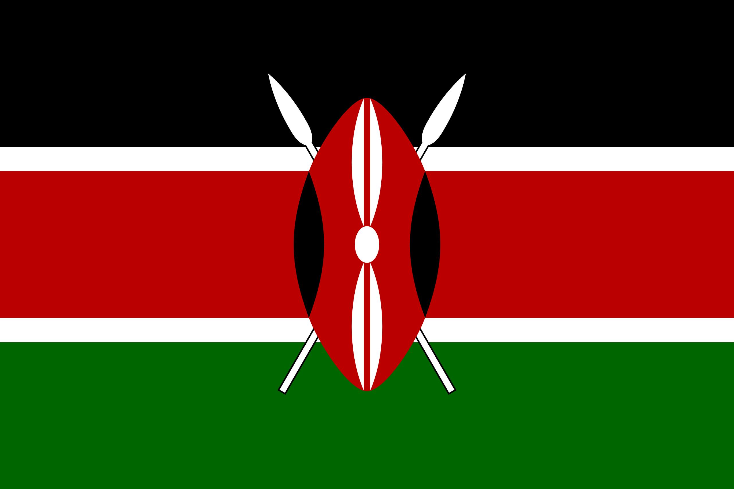 kenia, paese, emblema, logo, simbolo - Sfondi HD - Professor-falken.com