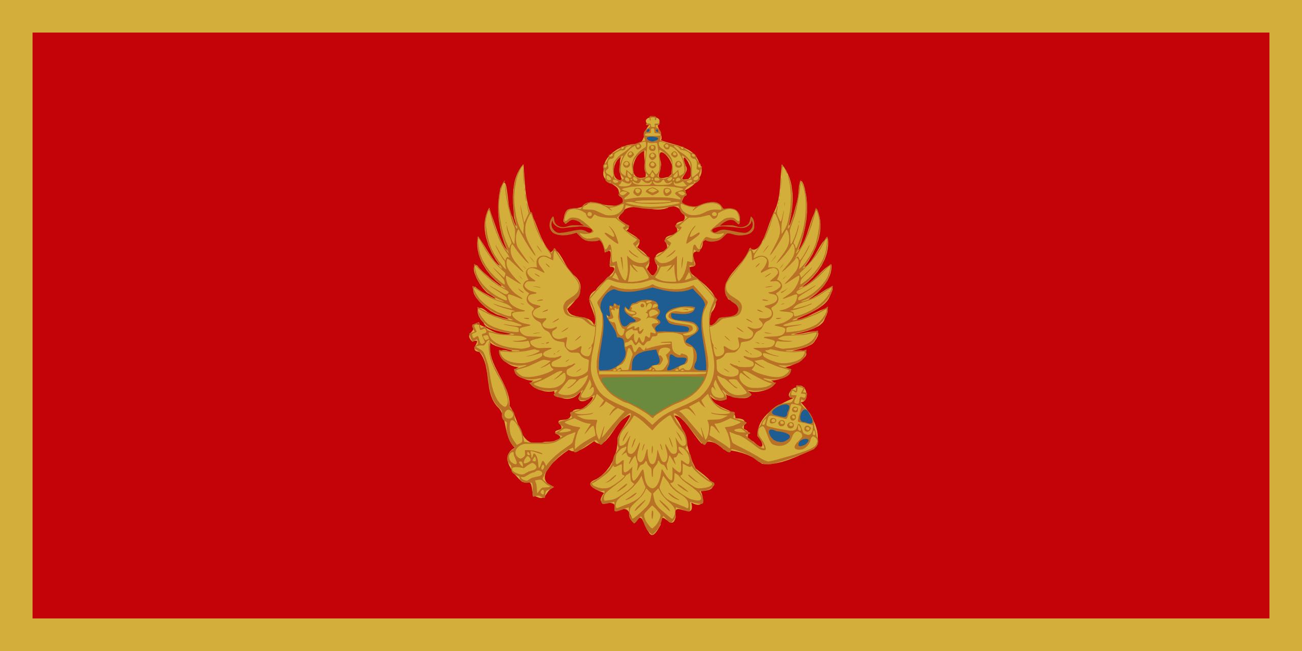 montenegro, país, emblema, insignia, símbolo - Fondos de Pantalla HD - professor-falken.com