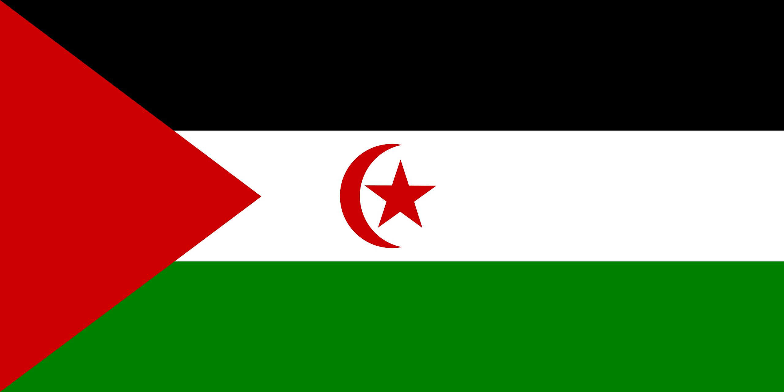 Saara Ocidental, país, Brasão de armas, logotipo, símbolo - Papéis de parede HD - Professor-falken.com