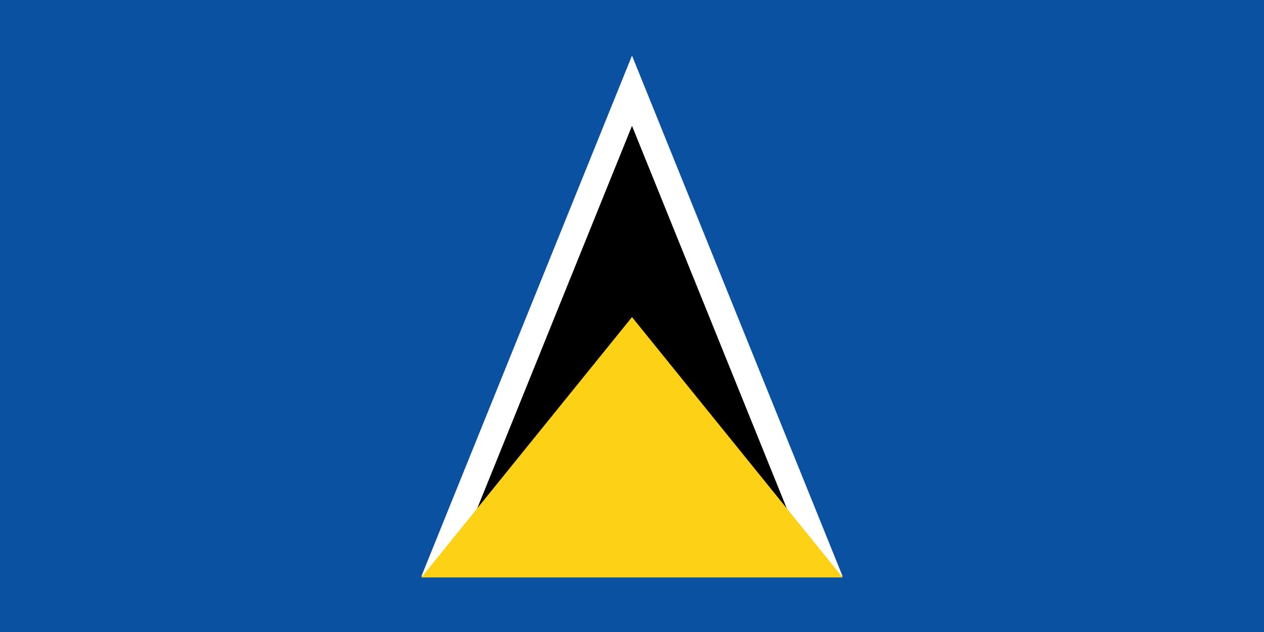 santa lucia, país, emblema, insignia, प्रतीक - HD वॉलपेपर - प्रोफेसर-falken.com