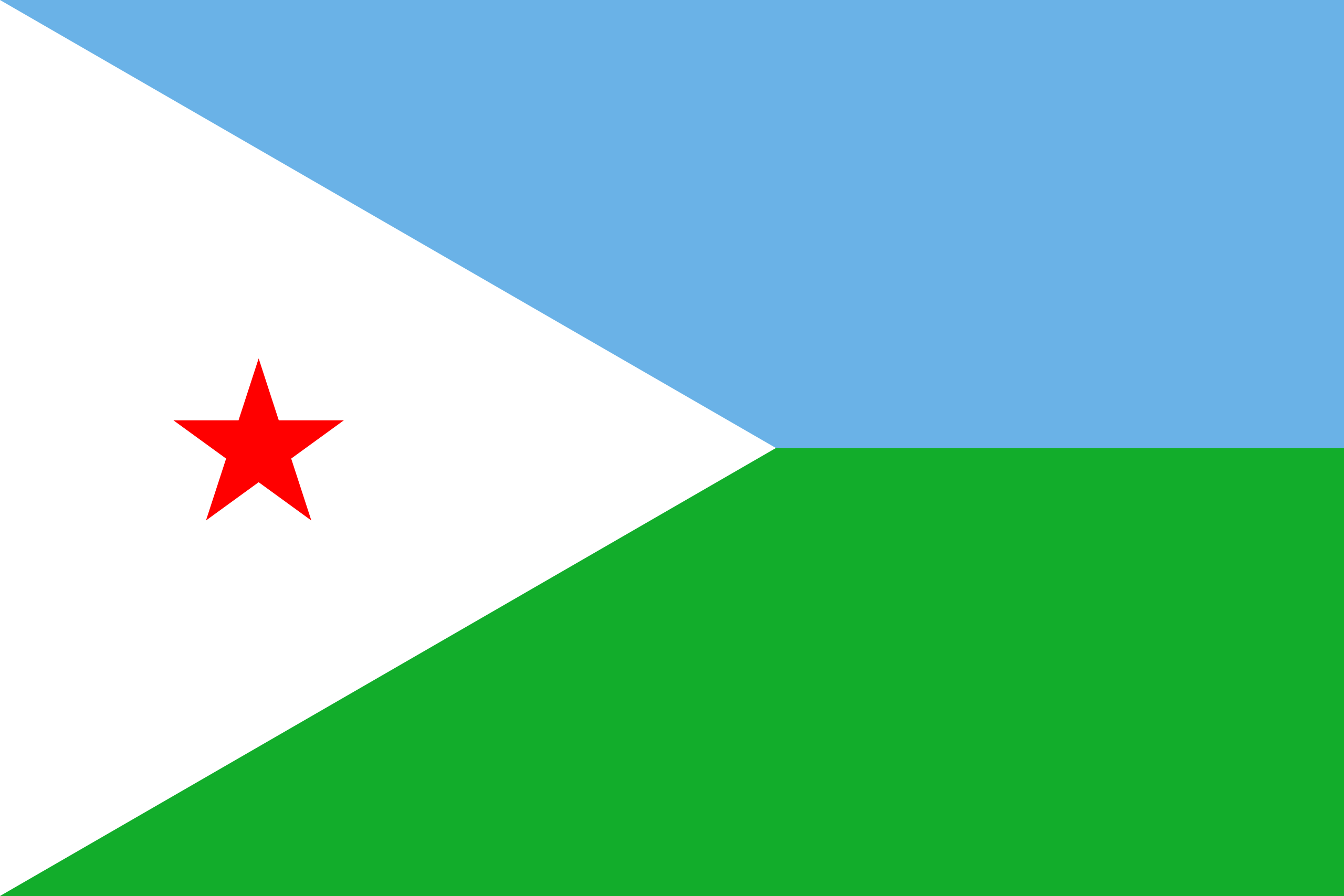 yibuti, país, emblema, insignia, символ - Обои HD - Профессор falken.com