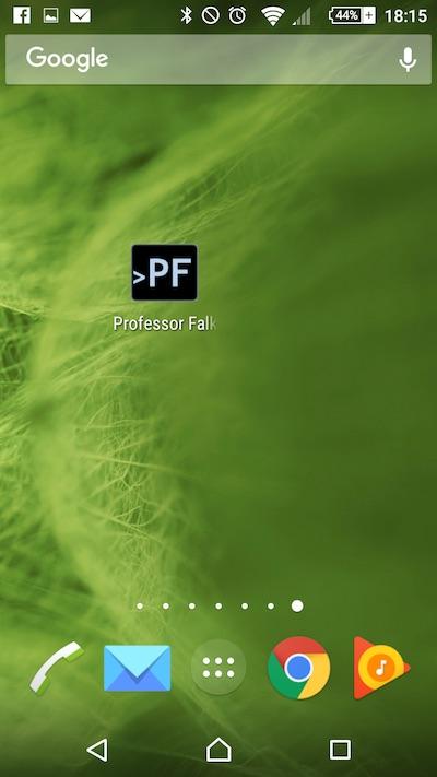 Chrome からあなたの Android 携帯電話のホーム画面に web サイトを追加する方法 - イメージ 4 - 教授-falken.com