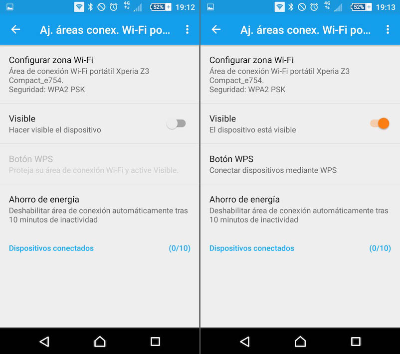 Come configurare e attivare l'area portatile Wi-Fi dal tuo cellulare Android per condivisione Internet - Immagine 6 - Professor-falken.com