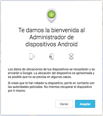 Comment trouver votre téléphone mobile Android si vous l'avez perdu ou ne me souviens pas où elle s'était arrêtée - Image 3 - Professor-falken.com