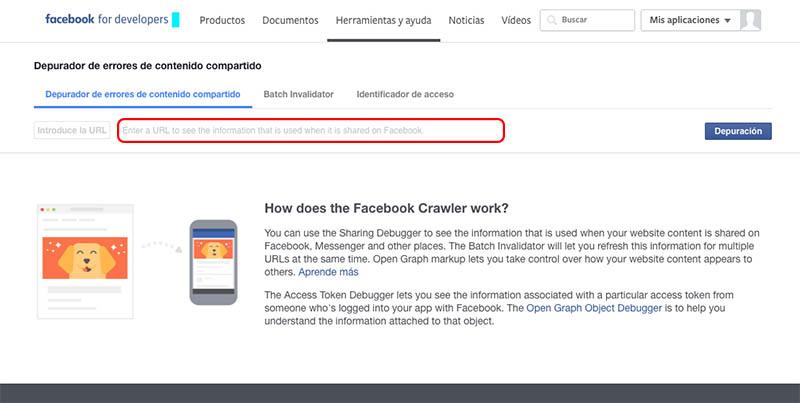 クリーンアップまたは facebook を利用して共有している URL からキャッシュを更新する方法 - イメージ 1 - 教授-falken.com