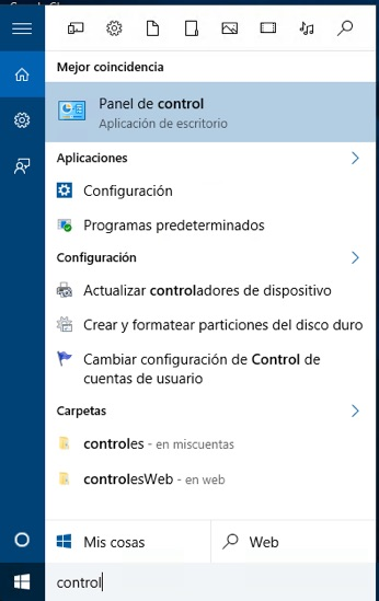 Cuáles son las diferentes formas de abrir el Panel de Control en Windows 10 - Image 3 - professor-falken.com