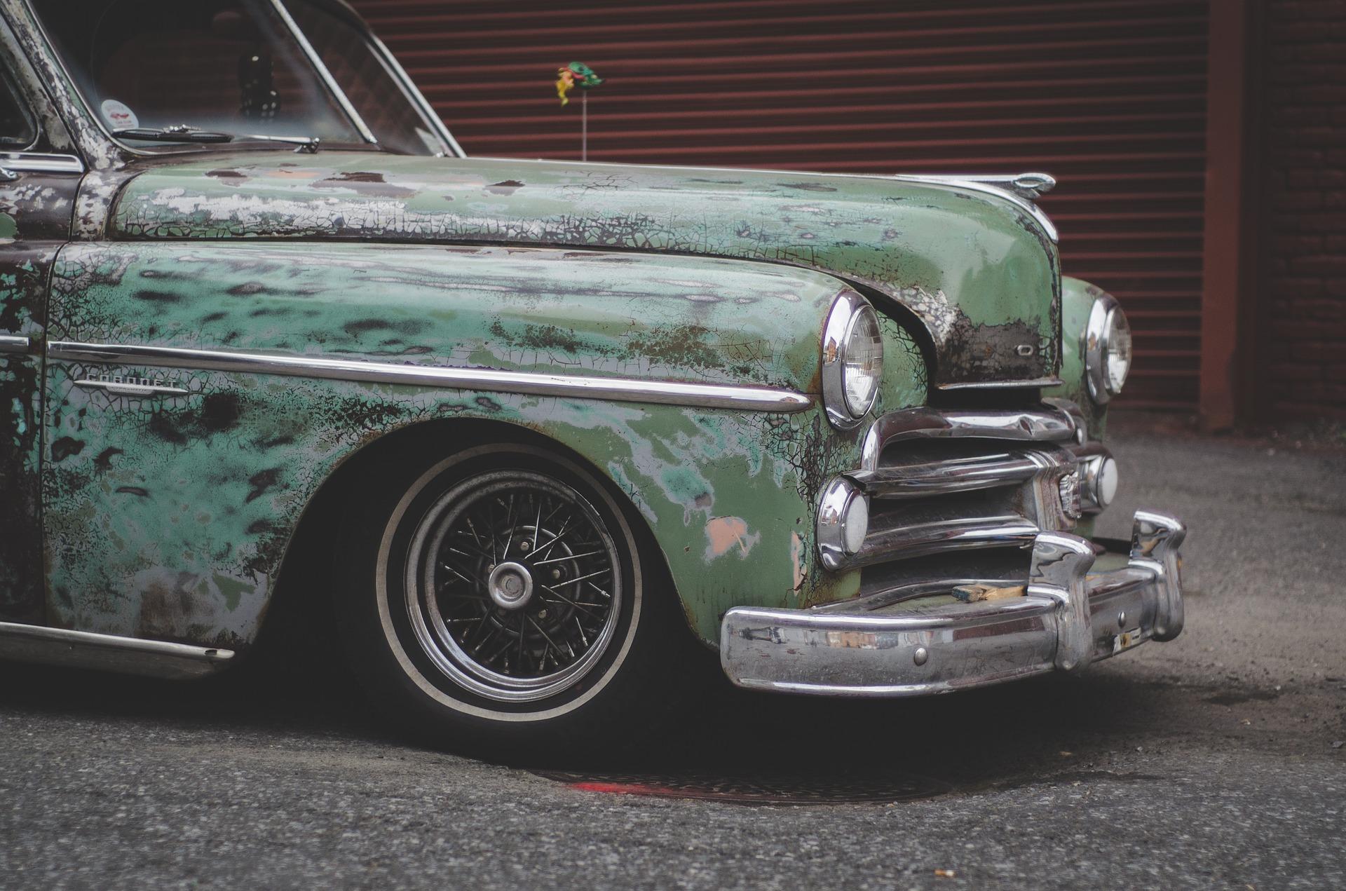 coche, 年份, 经典, 复古, 老, 脏, automov汽车��壁纸 - 教授-falken.com