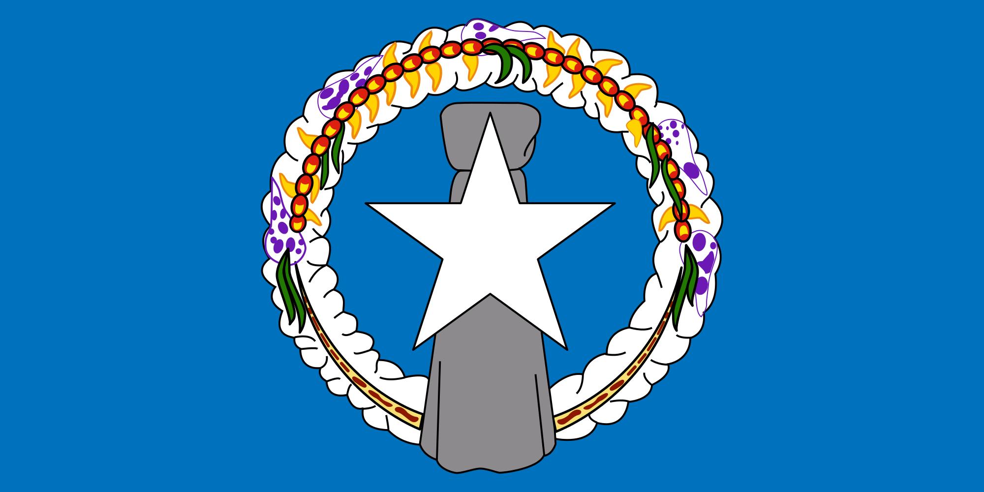 islas marianas del norte, país, emblema, insignia, символ - Обои HD - Профессор falken.com