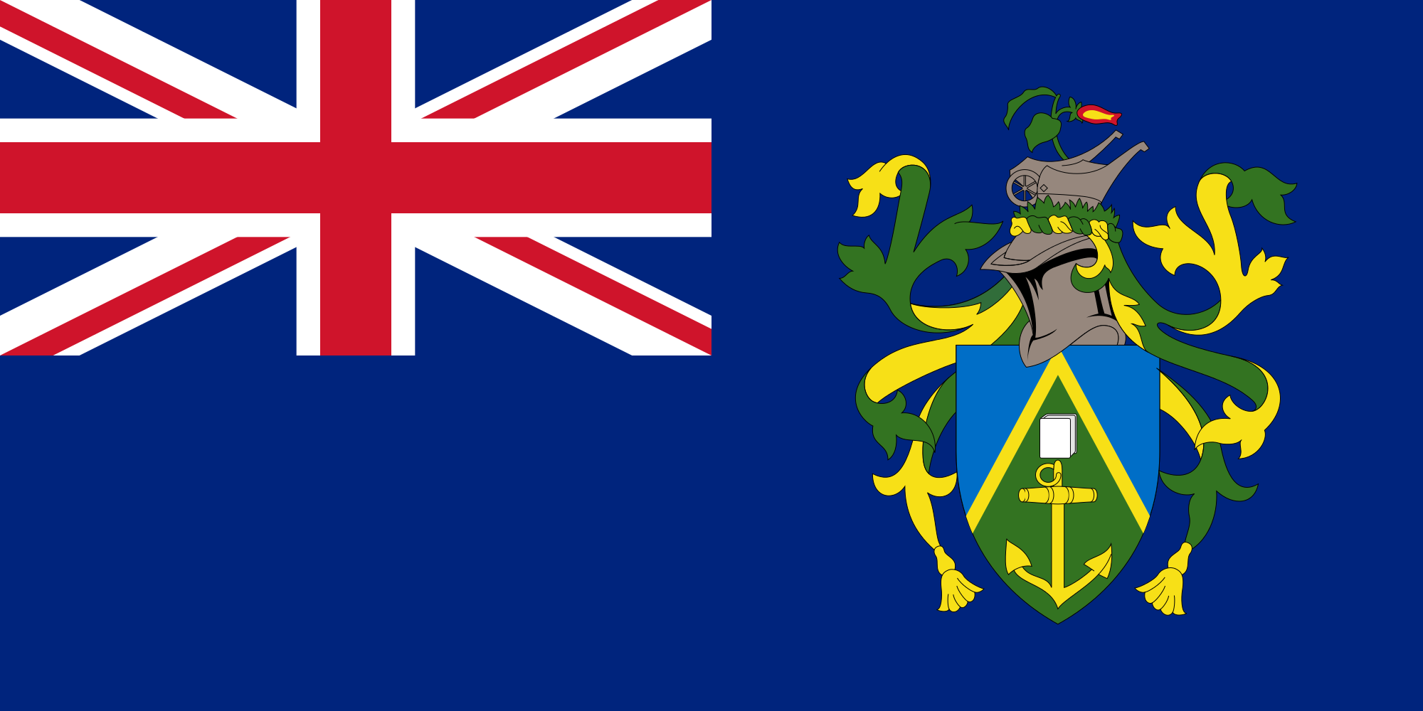 islas pitcairn, pays, emblème, logo, symbole - Fonds d'écran HD - Professor-falken.com