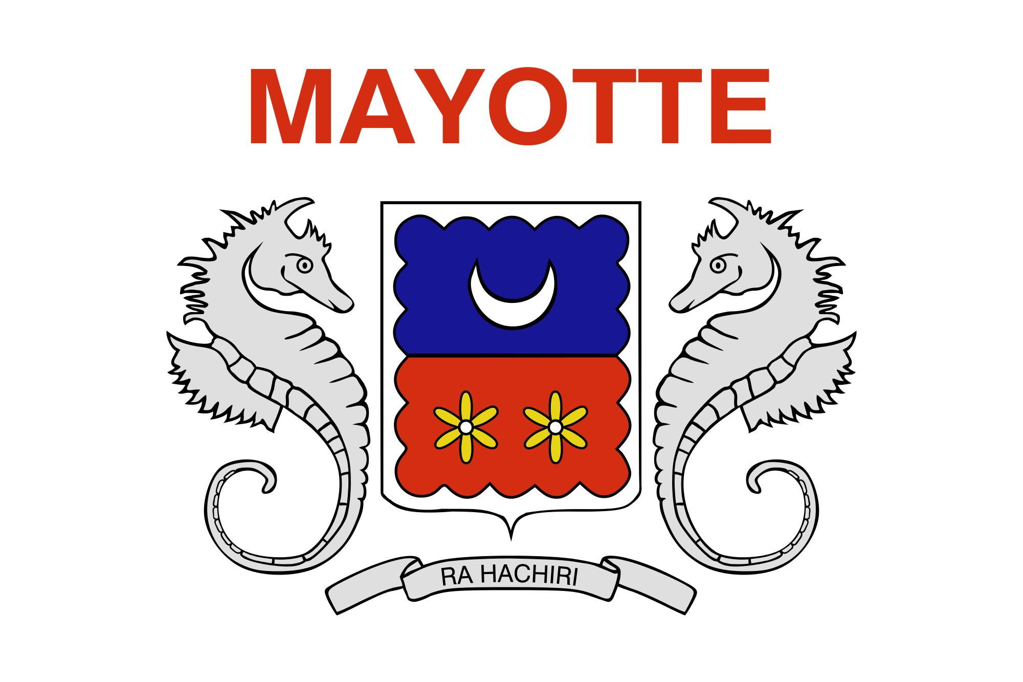 mayotte, país, emblema, insignia, σύμβολο - Wallpapers HD - Professor-falken.com
