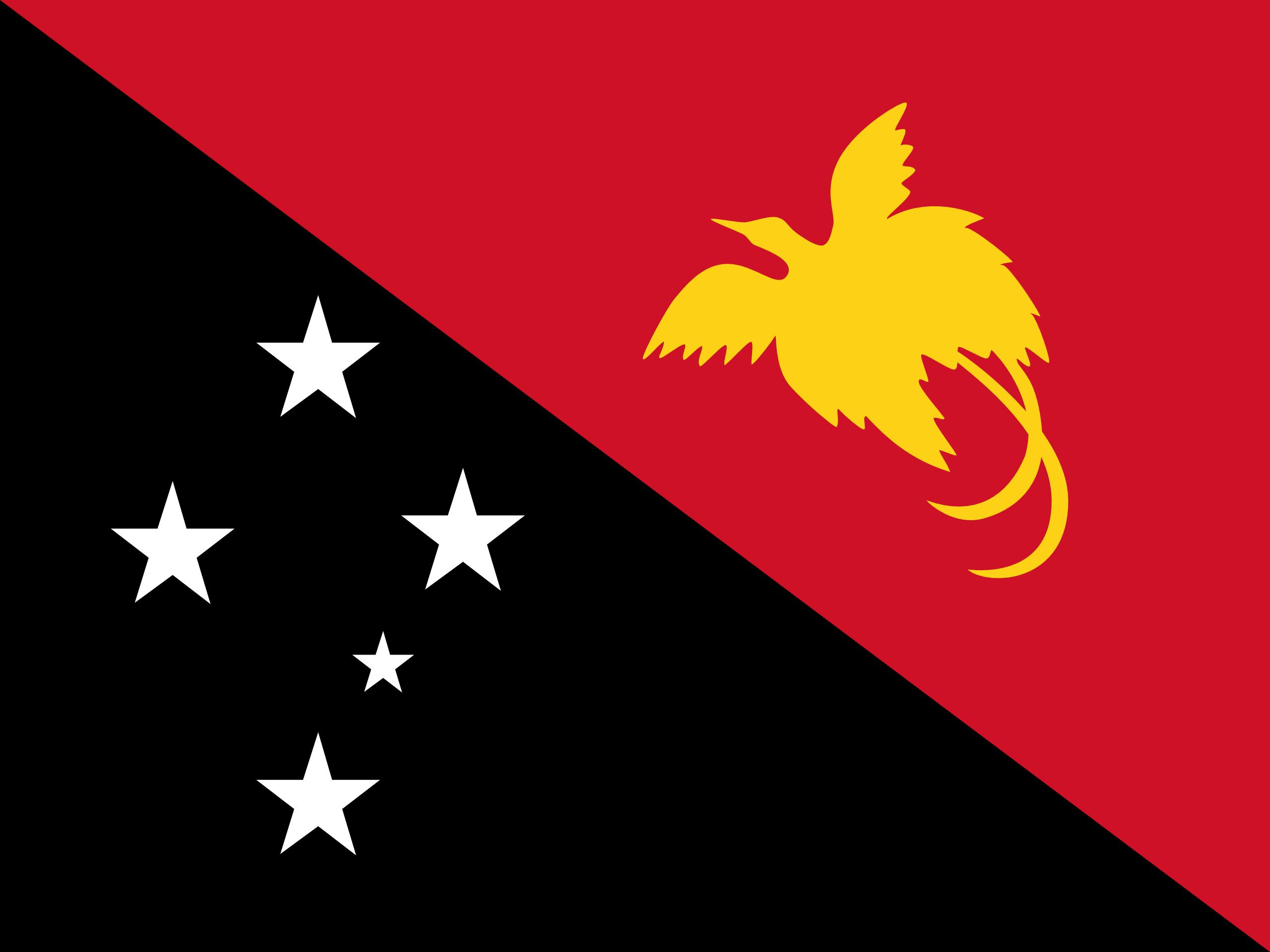 papúa nueva guinea, país, emblema, insignia, シンボル - HD の壁紙 - 教授-falken.com