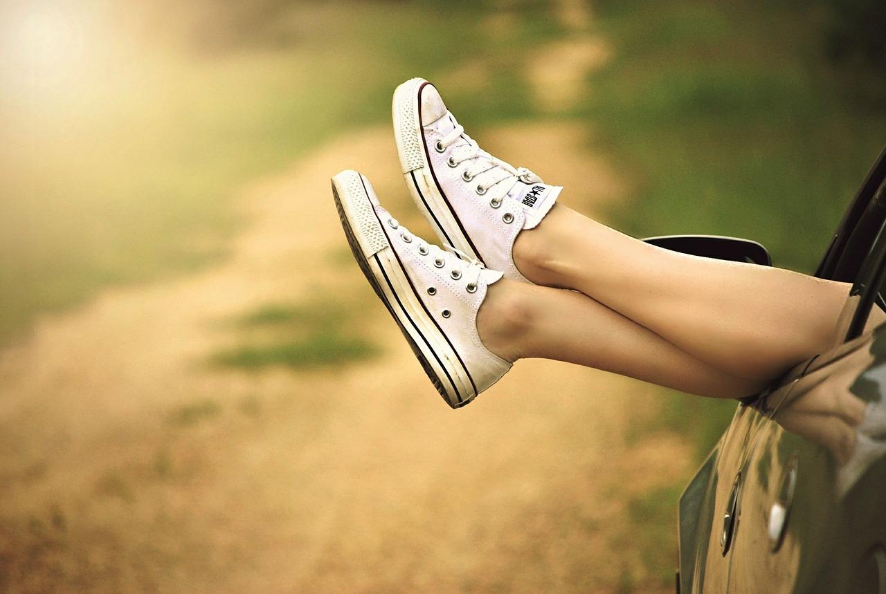 pernas, uma paragem, carro, Estrada, sapatos, liberdade, Relaxe, mulher - Papéis de parede - Professor-falken.com