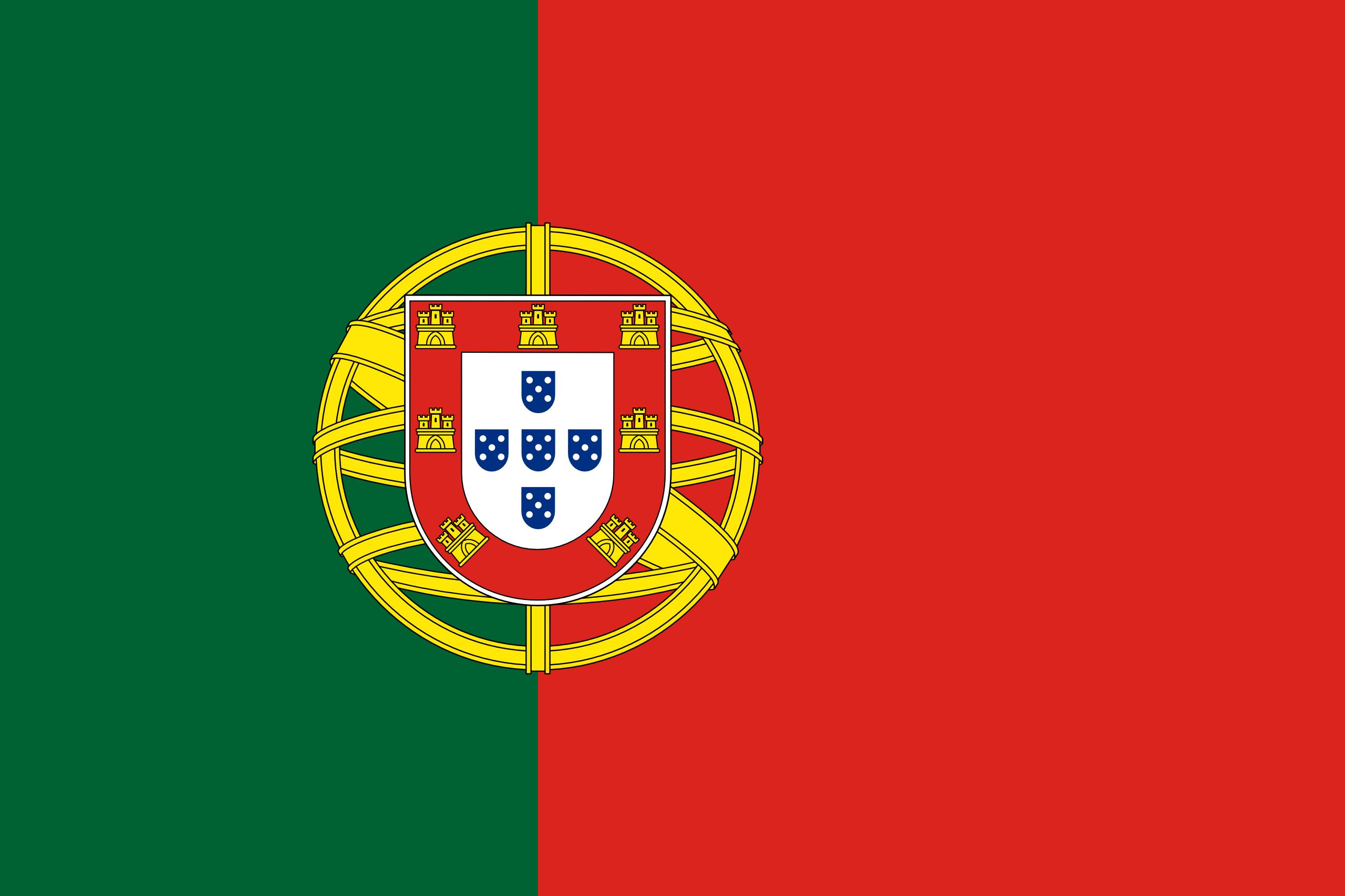portugal, país, emblema, insignia, символ - Обои HD - Профессор falken.com