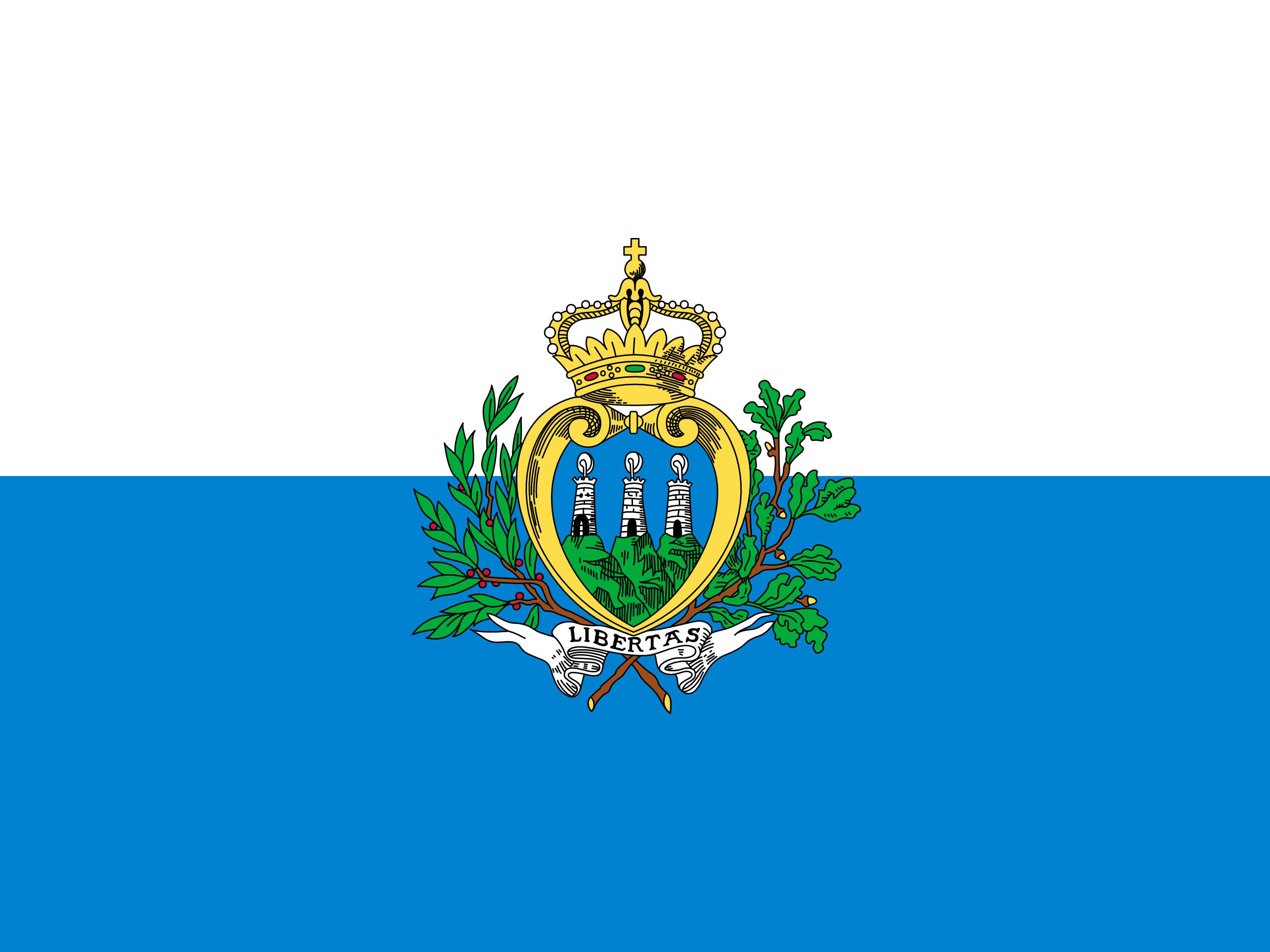 san marino, país, emblema, insignia, σύμβολο - Wallpapers HD - Professor-falken.com