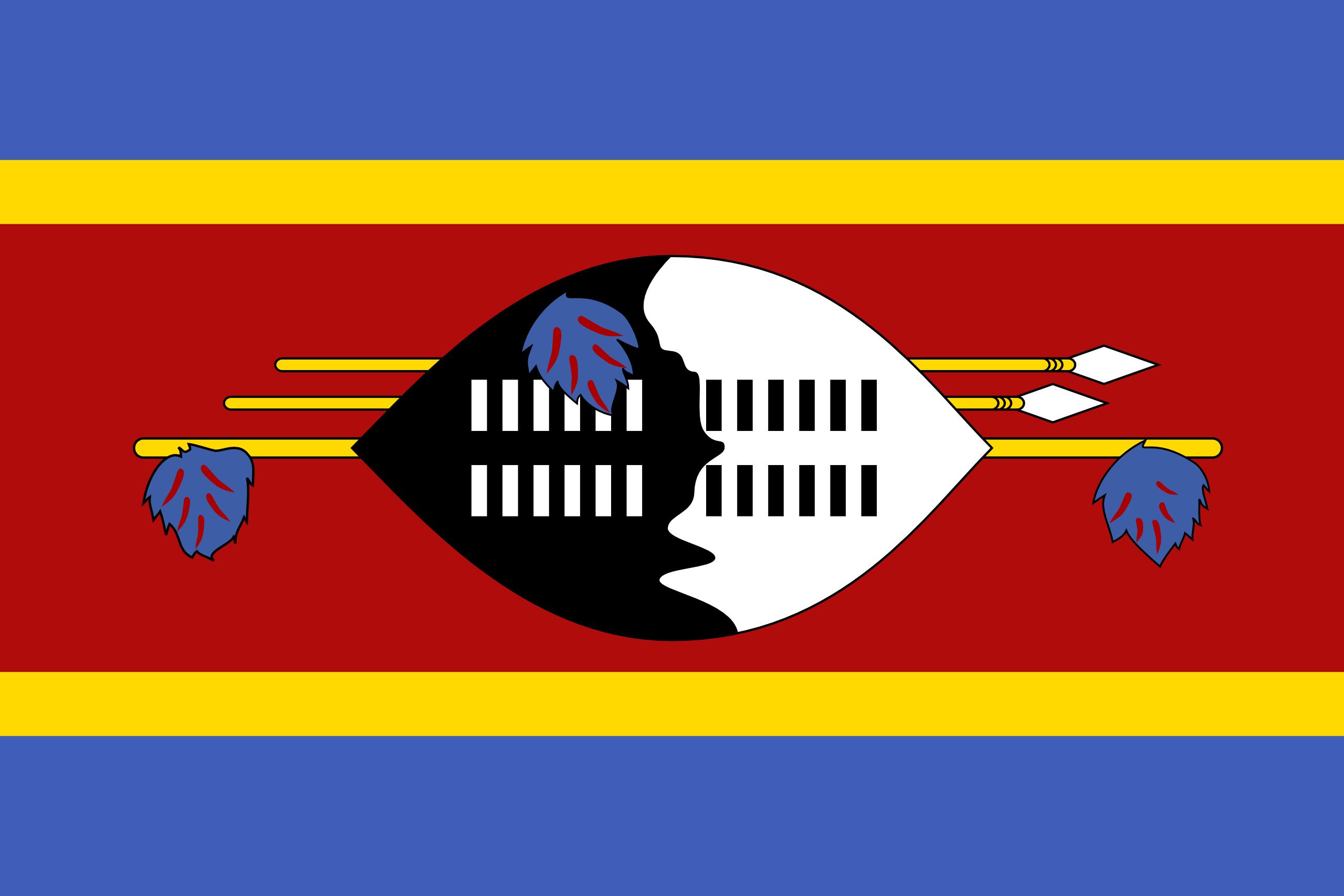 suazilandia, país, emblema, insignia, σύμβολο - Wallpapers HD - Professor-falken.com