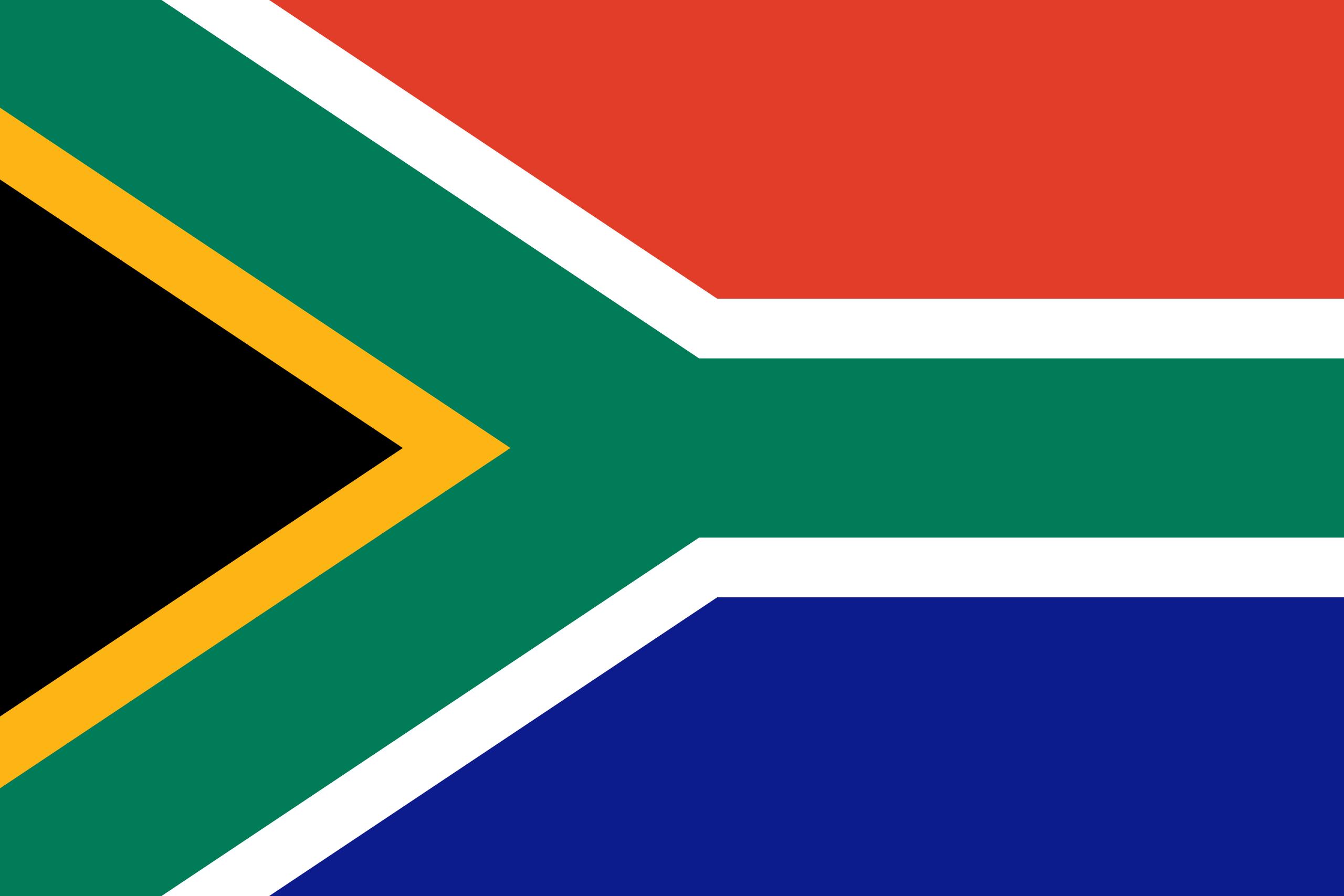 Afrique du Sud, pays, emblème, logo, symbole - Fonds d'écran HD - Professor-falken.com