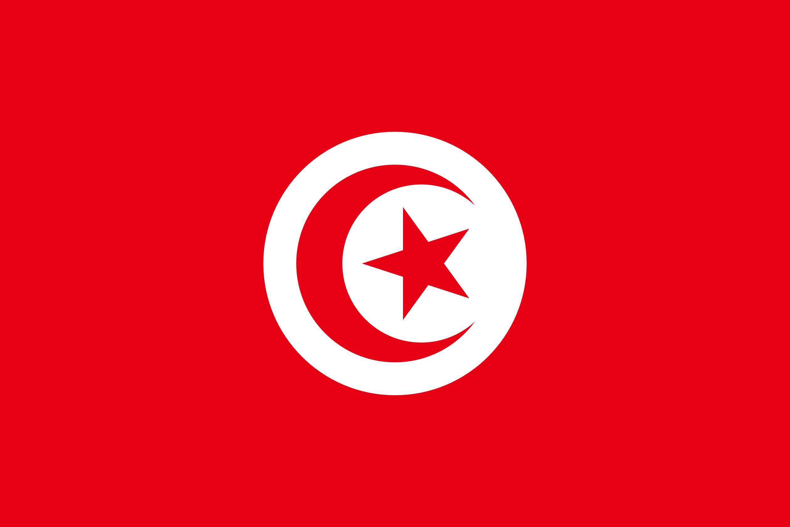 Tunisie, pays, emblème, logo, symbole - Fonds d'écran HD - Professor-falken.com