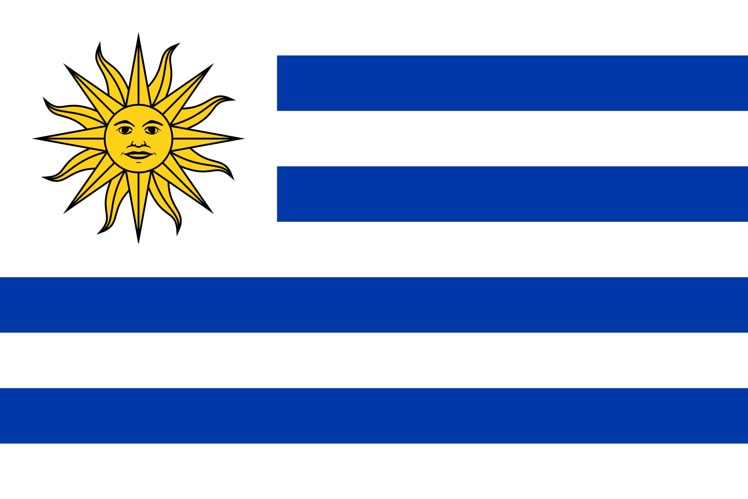 uruguay, país, Brasão de armas, logotipo, símbolo - Papéis de parede HD - Professor-falken.com